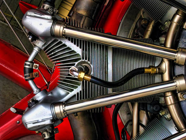 Radial Engine Photograph - Radial Engine by Dale Jackson