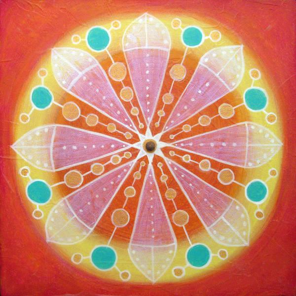Painting - Radiance by Janelle Schneider