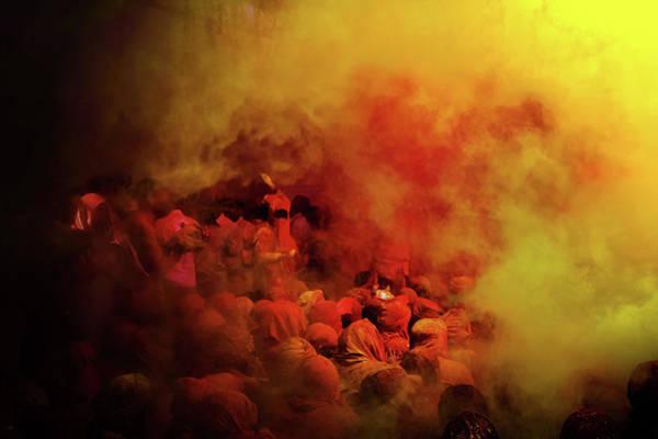 Holi Photograph - Radiant by Copyright Soumya Bandyopadhyay Photography
