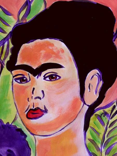 Painting - Radiant Frida Kahlo by Nikki Dalton