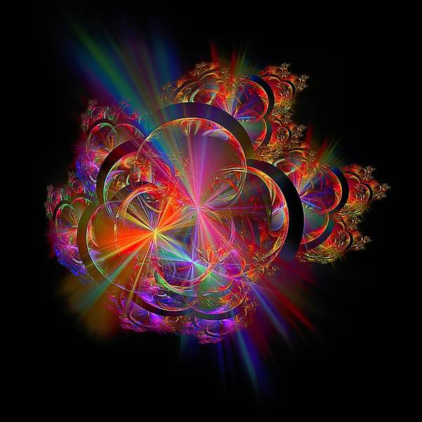 Digital Art - Radiant Rings by Doug Morgan