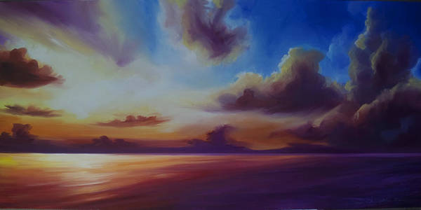Painting - Radiant Skyburst by James Christopher Hill