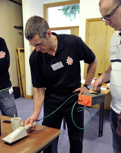 Radiological Photograph - Radiation Emergency Response Training by Public Health England