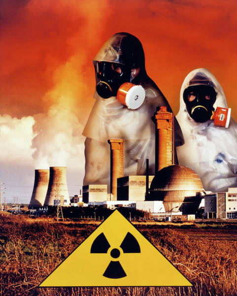 Nbc Photograph - Radiation Hazards by Steve Allen/science Photo Library