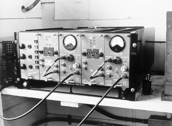 The Weather Photograph - Radiation-measuring Equipment by British Crown Copyright, The Met Office / Science Photo Library