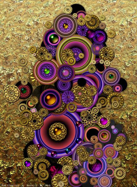 Digital Art - Radielle by Ann Stretton