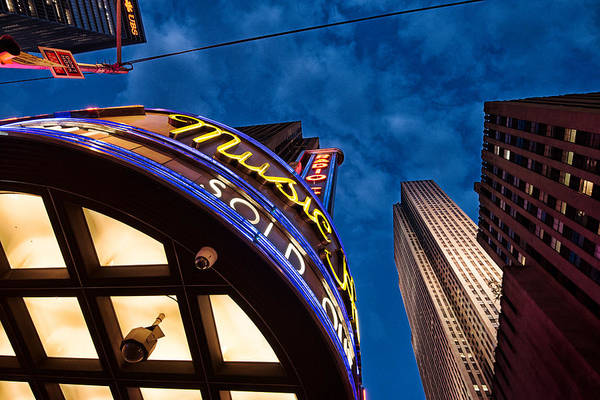 Photograph - Radio City And 30 Rock by James Howe