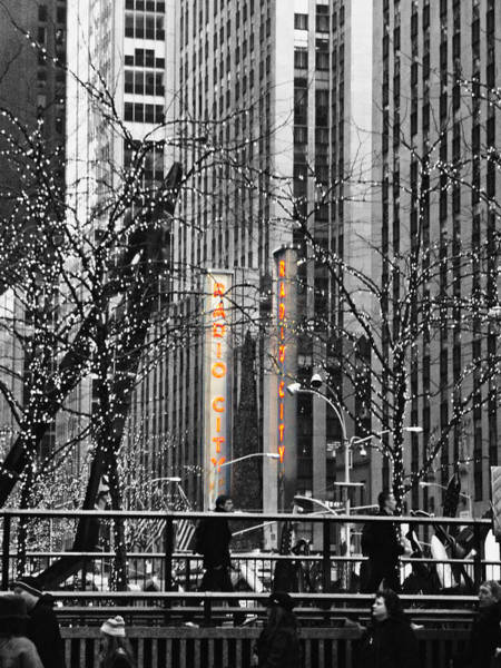 Rockettes Photograph - Radio City At Christmas - Black And White by Kimberly Perry