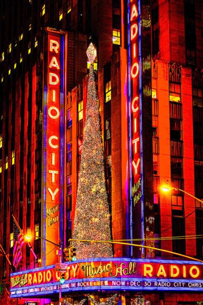 Photograph - Radio City Christmas by Chris Lord