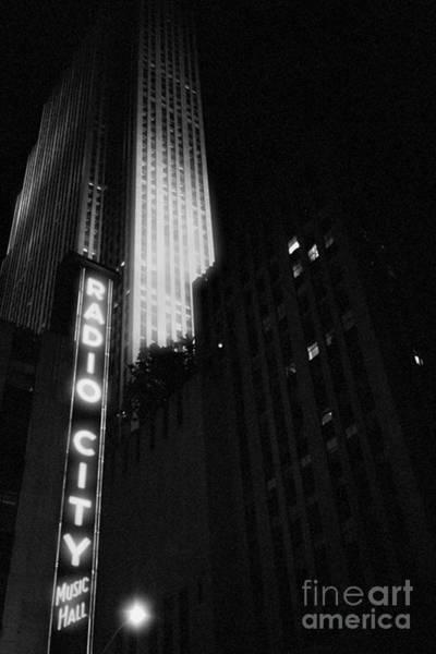 Photograph - Radio City by Joann Vitali