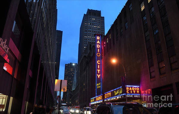 Photograph - Radio City Music Hall And St Patricks Cathedral by RicardMN Photography