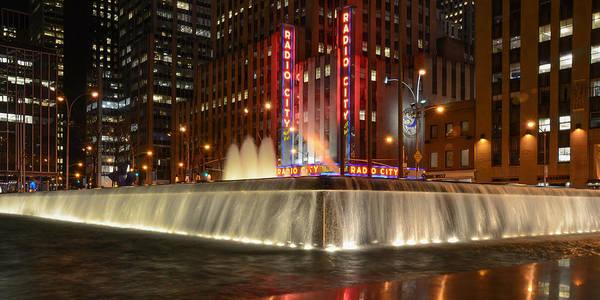 Photograph - Radio City Music Hall by Guy Whiteley