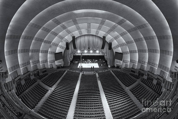 Center Stage Photograph - Radio City Music Hall II by Clarence Holmes