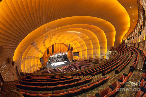 Center Stage Photograph - Radio City Music Hall IIi by Clarence Holmes
