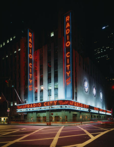 Rockettes Photograph - Radio City Music Hall In New York City by Mountain Dreams