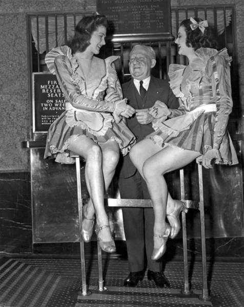 Rockettes Photograph - Radio City Rockettes by Underwood Archives