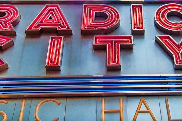 Photograph - Radio City by S Paul Sahm
