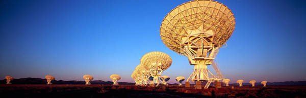 Satellite Dish Photograph - Radio Telescopes In A Field, Very Large by Panoramic Images