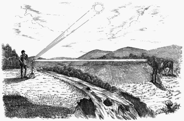 1880 Drawing - Radiophone, 1880 by Granger