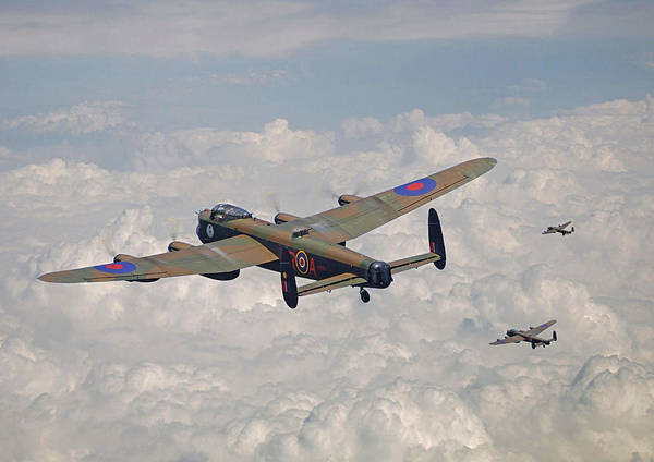 Avro Wall Art - Photograph - Raf Lancaster - Conclusion by Pat Speirs