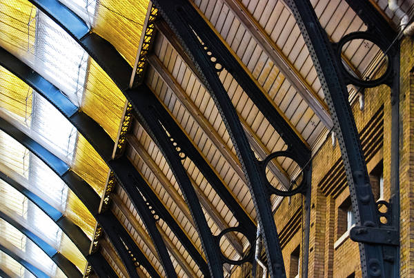 Photograph - Rafters At London Kings Cross by Christi Kraft