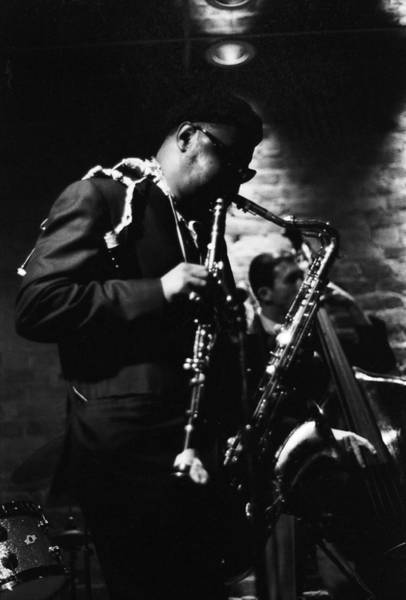 Wall Art - Photograph - Rahsaan Roland Kirk At Penthouse Seattle 1967 by Dave Coleman