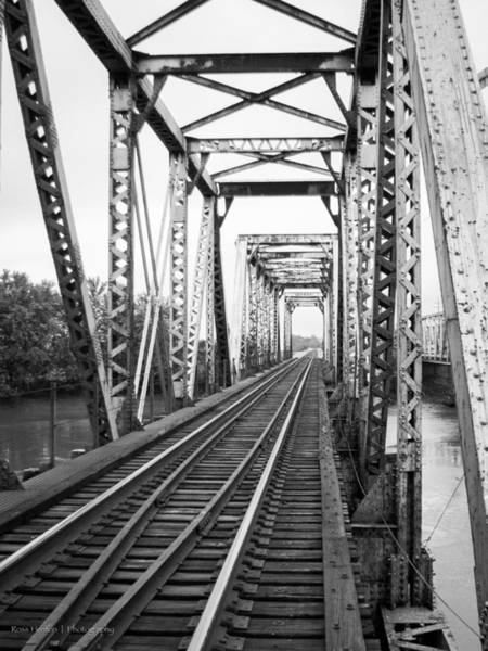 Photograph - Railroad Bridge by Ross Henton