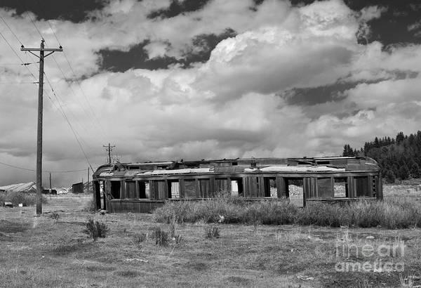 Photograph - Railroad Car by Mae Wertz