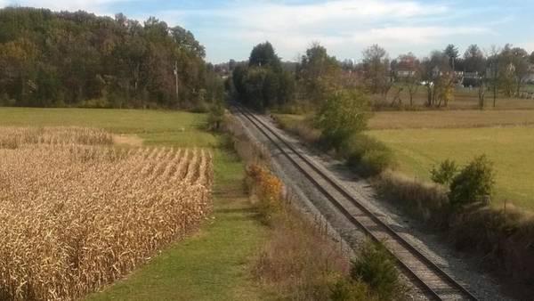 Wall Art - Photograph - Railroad Cut Gettysburg Battlefield by Joann Renner
