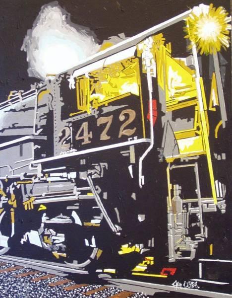 Railroad Museum Art Print by Paul Guyer
