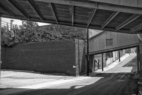 Photograph - Railroad St.overpass by Patrick M Lynch