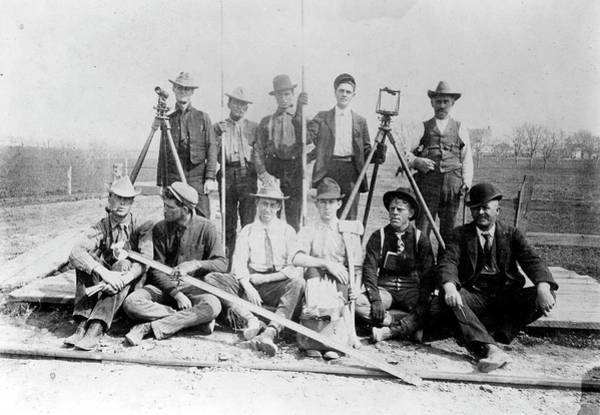 Photograph - Railroad Surveyors by Granger