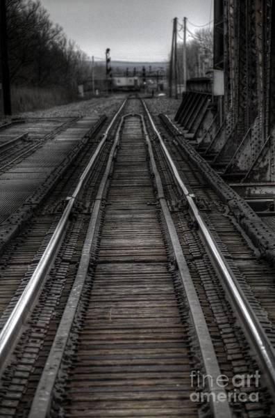 Photograph - Rails by Jim Lepard