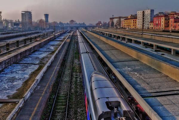 Photograph - Railway Station by Roberto Pagani