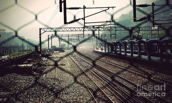 Photograph - Railway Station by Yew Kwang