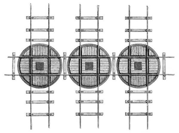 Rail Crossing Photograph - Railway Turntables by Science Photo Library