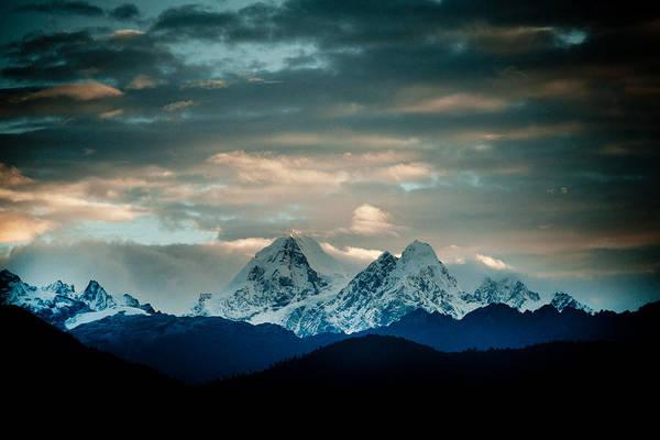 Wall Art - Photograph - Raimond Klavins Fotografika.lv Sunrise Himalayas Mountain Nepal by Raimond Klavins
