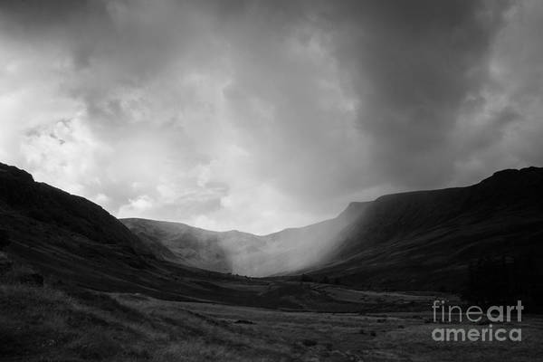 Haweswater Wall Art - Photograph - Rain In Riggindale by Kathryn Bell