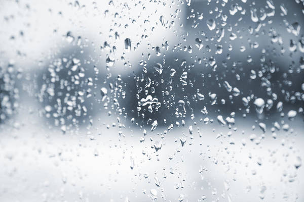 Clear Coat Wall Art - Photograph - Rain In Winter by Alexey Stiop