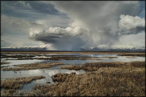 Photograph - Rain Storm by Erika Fawcett