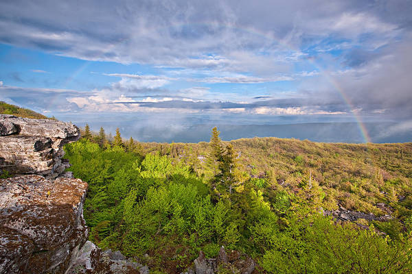 Photograph - Rainbow At Dolly Sods by Michael Blanchette