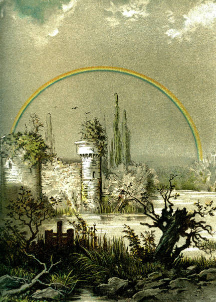 1888 Photograph - Rainbow At Night by Collection Abecasis/science Photo Library
