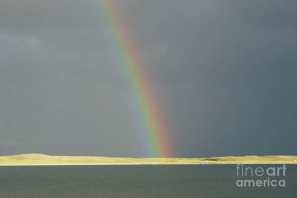 Photograph - Rainbow At The End Of The Road  by Karla Weber