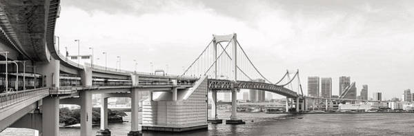 Photograph - Rainbow Bridge In Tokyo by For Ninety One Days