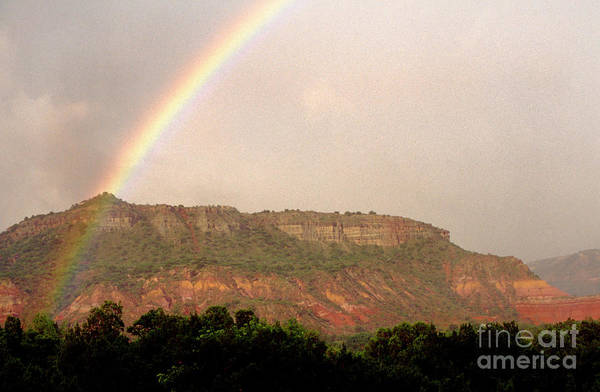 Photograph - Rainbow Clearing Storm by Thomas R Fletcher