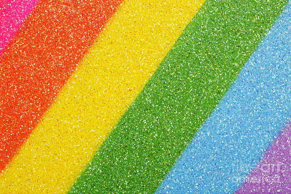 Wall Art - Photograph - Rainbow Colors On Top Of A Box by Sami Sarkis
