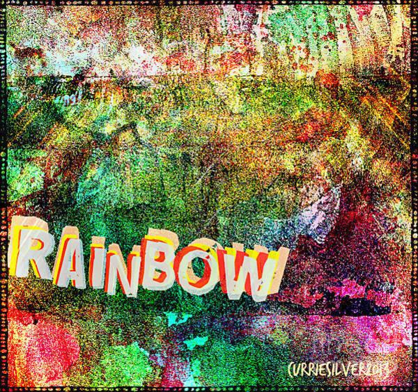 Wall Art - Digital Art - Rainbow by Currie Silver