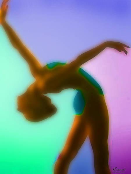 Painting - Rainbow Dance by Tony Rubino