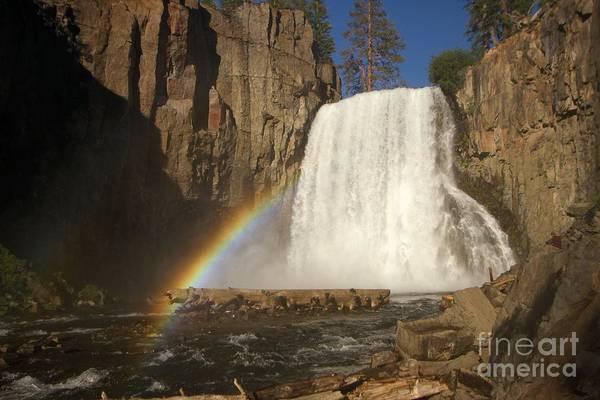 Photograph - Rainbow Falls by Adam Jewell