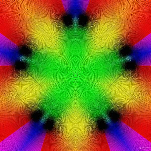 Digital Art - Rainbow Fantasy by Derek Gedney